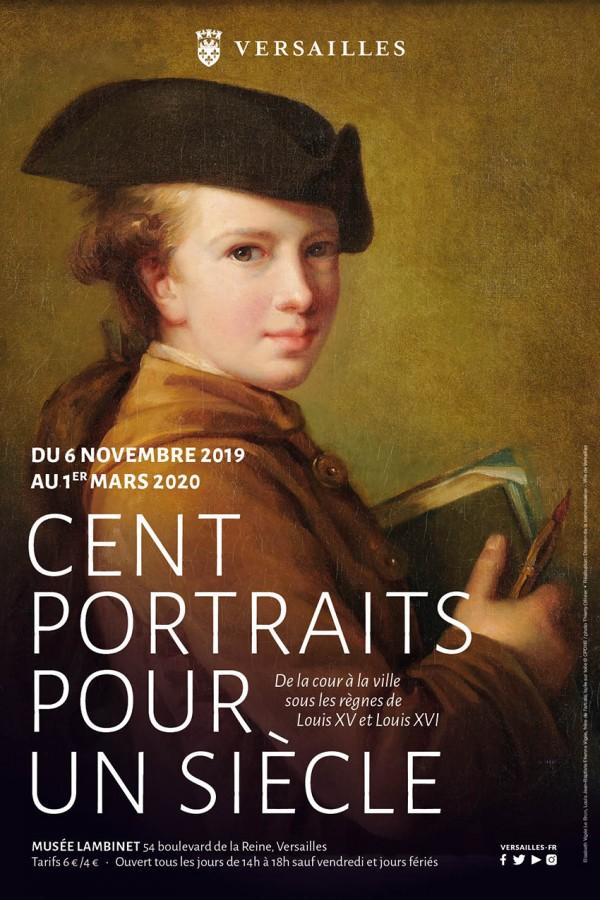 Cent portraits pour un siècle au Musée Lambinet