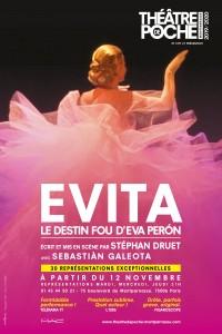 Evita au Théâtre de Poche-Montparnasse