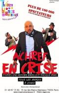 Achref : en crise ! au Théâtre des Blancs Manteaux