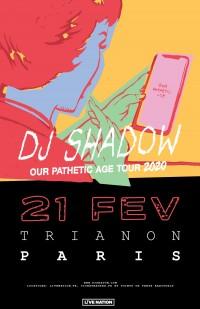 DJ Shadow au Trianon
