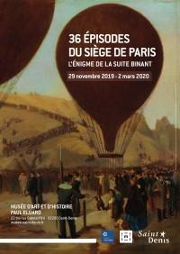 36 épisodes du Siège de Paris au Musée d'Art et d'Histoire Paul Éluard