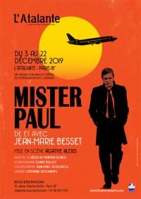Mister Paul au Théâtre de l'Atalante