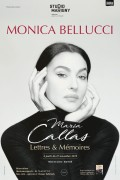 Monica Bellucci : Maria Callas, Lettres et Mémoires au Théâtre Marigny