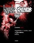 Lamb of God et Kreator à l'Olympia