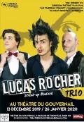 Lucas Rocher : Trio au Théâtre du Gouvernail