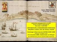 Explorateurs et missionnaires portugais aux XVIe et XVIIe siècles à l'Espace Reine de Saba
