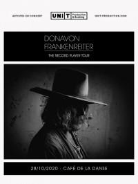 Donavon Frankenreiterrepart au Café de la Danse