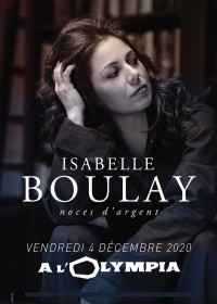 Isabelle Boulay à l'Olympia