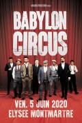 Babylon Circus à l'Élysée Montmartre