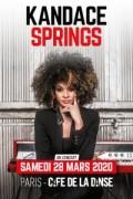 Kandace Springs au Café de la Danse