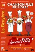Chanson Plus Bifluorée : Spécial Fêtes au Théâtre La Bruyère