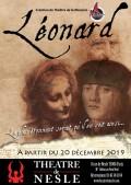 Léonard au Théâtre de Nesle