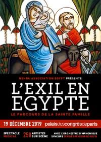 L'Exil en Égypte : le parcours de la Sainte-Famille au Palais des Congrès de Paris
