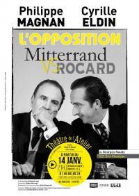 L'Opposition Mitterand contre Rocard au Théâtre de l'Atelier