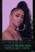 Saweetie au Bataclan