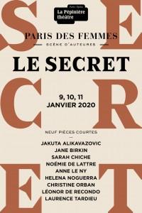 Paris des Femmes : Le Secret à La Pépinière Théâtre