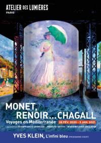 Monet, Renoir... Chagall — Voyages en Méditerranée à l'Atelier des Lumières
