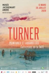 Turner, peintures et aquarelles. Collections de la Tate au Musée Jacquemart-André