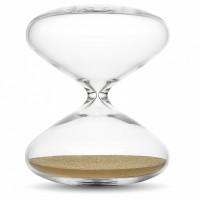 Marc Newson, The Hourglass, 2015, Suisse, Verre borosilicate, nanobilles en acier inoxydable plaquées or