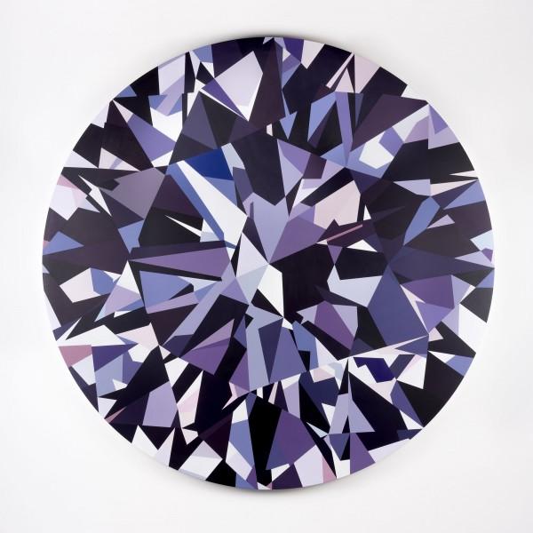 Diamant — Mathieu Mercier Paris, 2015 Acrylique sur toile