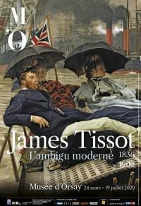 Affiche de l'exposition James Tissot (1836-1902) au Musée d'Orsay