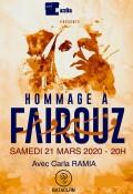 « Hommage à Fairouz » au Bataclan