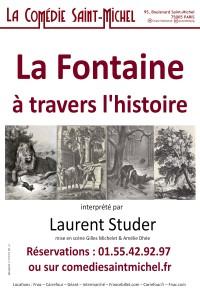 La Fontaine à travers l'Histoire à la Comédie Saint-Michel