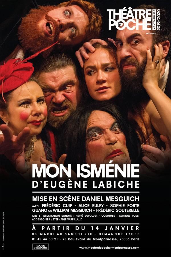 Mon Isménie au Théâtre de Poche-Montparnasse