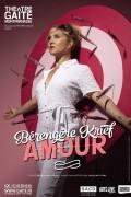 Bérengère Krief : Amour au Théâtre de la Gaîté-Montparnasse