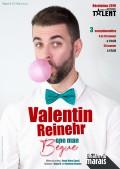 Valentin Reinehr : One Man Bègue au Théâtre du Marais