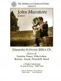 John Muratore en concert