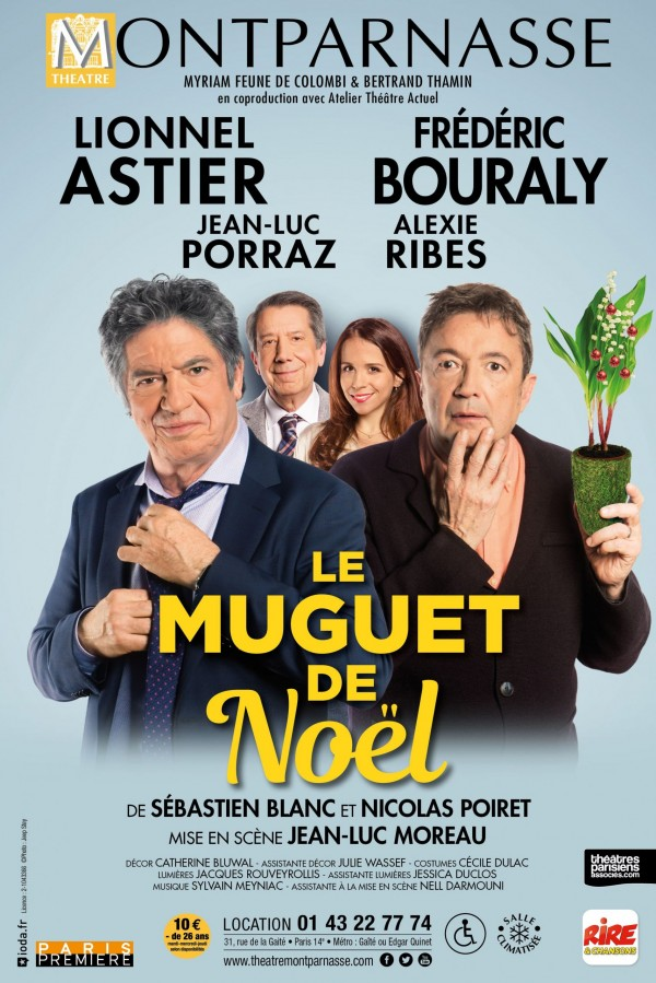 Le Muguet de Noël au Théâtre Montparnasse