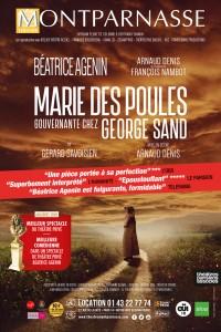 Marie des poules, gouvernante chez George Sand au Théâtre Montparnasse