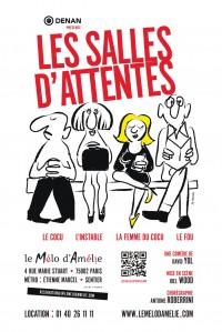 Les Salles d'attente au Théâtre Mélo d'Amélie