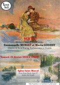 Emmanuelle Moriat et Marta Godeny en concert