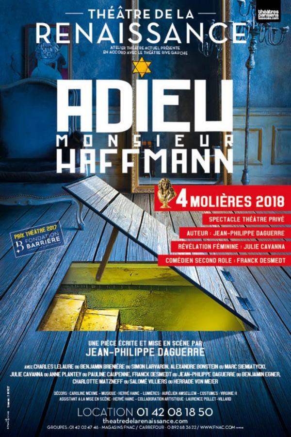 Adieu Monsieur Haffmann au Théâtre de la Renaissance