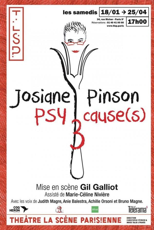 Psy Cause(s) 3 à La Scène Parisienne