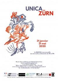 Unica Zürn au Musée d'Art et d'Histoire de l'Hôpital Sainte-Anne