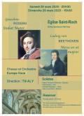 Les Chœur et Orchestre Europa Voce et solistes en concert