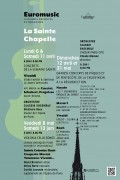 Concert à la Sainte-Chapelle