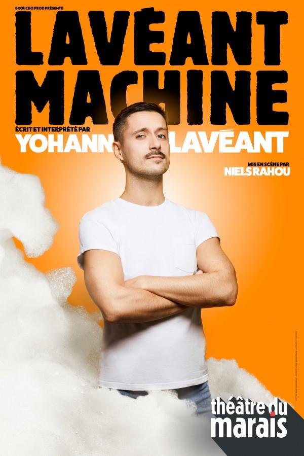 Lavéant machine au Théâtre du Marais