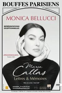 Monica Bellucci : Maria Callas, lettres et mémoires au Théâtre des Bouffes Parisiens