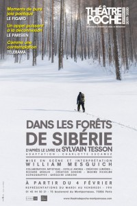Dans les forêts de Sibérie au Théâtre de Poche-Montparnasse