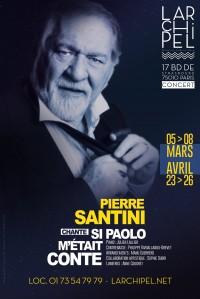 Pierre Santini en concert