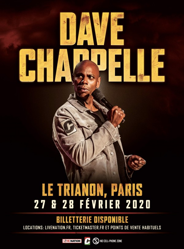 Dave Chappelle au Trianon