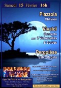Ensemble Brasilis, Olivier Blanchard et Arabella Cortese en concert