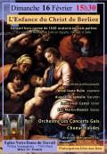 Le Chœur Eolides, Orchestre Les Concerts Gais et solistes en concert