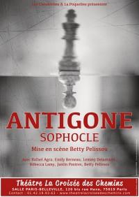 Antigone au Théâtre La Croisée des Chemins - Salle Belleville