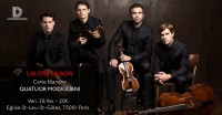 Le Quatuor Modigliani en concert