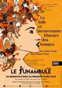 La Folle et Inconvenante Histoire des femmes au Funambule